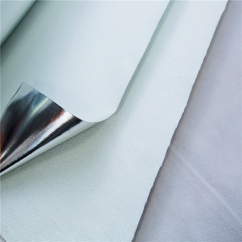 aluminum fiberglass fabric,Fireproof Fabric wholesale